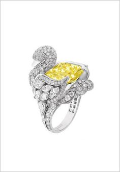 GRAFF's Swan Dimond Collection - Ring