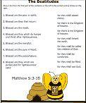 Beatitudes in Spanish/English