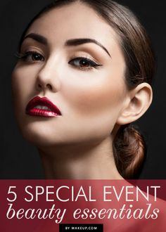 5 beauty essentials for special events // for all those holiday parties coming up!