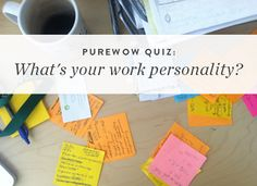 What's your work personality?