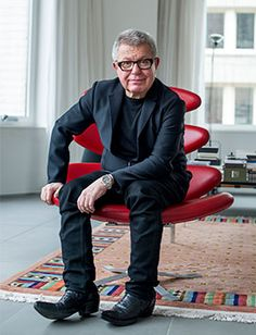 "If Libeskind has a signature design, it is the curved lines of his buildings that allows light to bounce off their edges so they appear to almost dance in a skyline. And each design is driven by his mantra, ""every building deserves a cultural approach"". It is why, when he stood far above Ground Zero with his fellow finalists on a grim rainy day, he was the only one who wanted to don galoshes and venture 75ft down into the site."