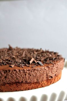 lululu at home / Chocolate Mousse Cake