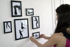 Paper-silhouette art