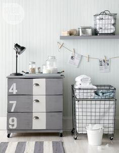 Ikea Tarva dresser makeover