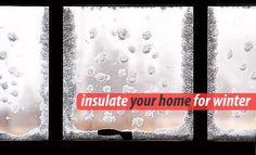 How to: Windows insulation for winter