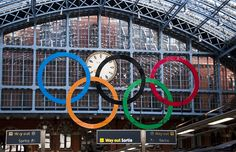 London getting ready for the 2012 Olympics