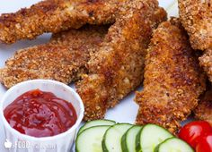 closeup-baked-almond-crusted-chicken-strips