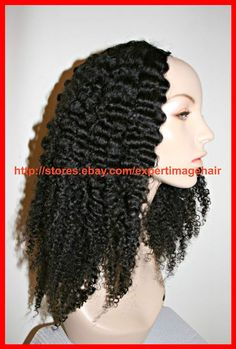 Ebay Store expertimagehair : Perfect for Transitoners & Protective Styling! IN STOCK! U-PART WIG & HALF WIG