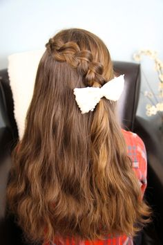 Pancake Lace Braid | Easy Hairstyles