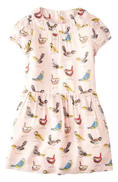 Mini Boden Print Tea Dress (Little Girls & Big Girls) available at #Nordstrom