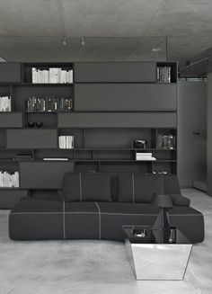 ♂ masculine dark living room design İpera 25 / Alataş Architecture  Consulting from http://www.archdaily.com/291739/ipera-25-alatas-architecture-consulting/509c4a4ab3fc4b2c5500004a_-pera-25-alata-architecture-consulting_034ab-jpg/