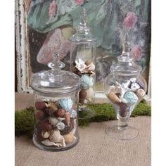 apothecary jars, glasses, jar canist, transit glass, eleg transit, home kitchens, canisters, glass apothecari, apothecari jar