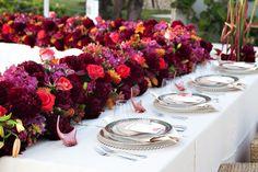 unique #wedding table designed by Celebrations Ltd | Cayman Weddings & Events