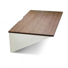 wonderwall modern desk - walnut 2
