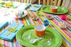 Table set up at a Baking Party #bakingparty #table