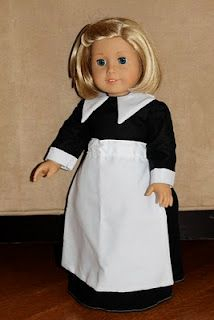 doll clothes pilgrim dress