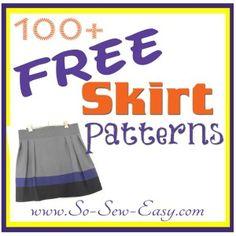 100 free, easy sew skirt, skirt patterns, free skirt sewing pattern, sew easi, easy to sew skirt, easy skirt pattern, sew pattern, sewing patterns