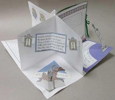 Making Super Pop-up Reports. Learn to make Super Pop-up Reports, which unfold to make a structure like a building with four rooms, each with two walls and a floor. Super Pop-up Reports are excellent forums for presenting research, and students love them.