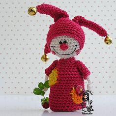 kid crochet, babi thing, jester pattern, crochet tutorials, crochet toy, amigurumi charact, knit, crochet patterns, christma
