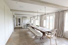 lights, doors, benches, rustic kitchens, kitchen dining