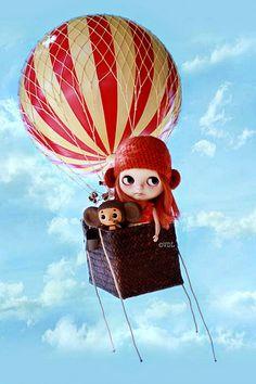 Hot Air Balloon ~