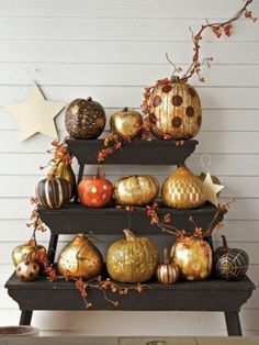 44 Pumpkin Décor Ideas For Home Fall Décor | DigsDigs