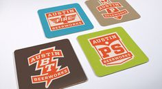 Austin Beerworks Coasters logo, beerdesign