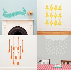 Wall decals by Mikado