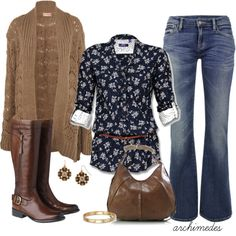 Raking Leaves, created by archimedes16 on Polyvore