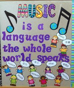 elementary music bulletin boards - Google Search MoreElementary Music Bulletin Boards