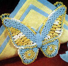 Butterfly Napkin Holder Pattern