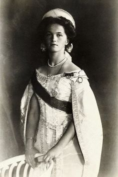 Olga, Grand Duchess of Russia, and one of the four daughters of Czar Nicholas II