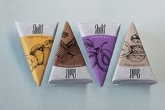 Packaging for Cheese by Alexandra Istratova, via Behance