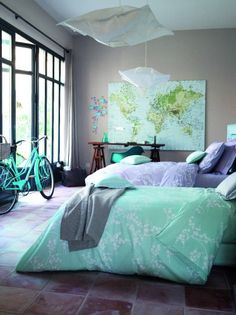 Like the gray with purple and teal combo.