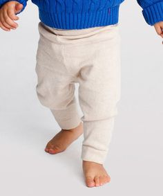 Another great find on #zulily! Crème Knit Leggings - Infant #zulilyfinds
