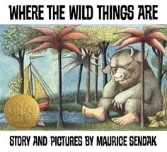 """""""The wild things roared their terrible roars and gnashed their terrible teeth and rolled their terrible eyes and showed their terrible claws but Max stepped into his private boat and waved goodbye."""" RIP Mr. Sendak and thank you!"""