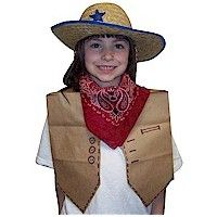 Paper Bag Cowgirl Vest Craft