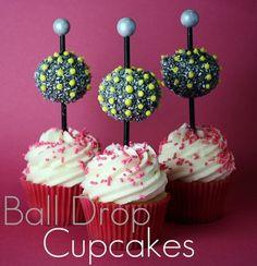 Ball Drop Cupcakes!