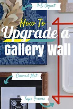 November 11, 2014, 7:00 pm HGTV Crafternoon: New Ways to Upgrade a Gallery Wall http://blog.hgtv.com/design/2014/11/11/hgtv-crafternoon-new-ways-to-upgrade-a-gallery-wall/  http://idealshedplans.com/backyard-storage-sheds/