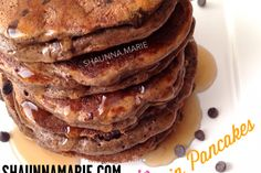 Cacao Chip Protein Pancakes - SHAUNNA.MARIE