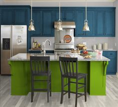 Kitchen colors - wow I love this!
