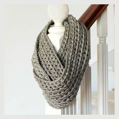 PATTERN ONLY- Basic Chunky Infinity Scarf