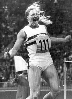 Mary Peters - won gold medal in the women's pentathlon at the Olympic Games in Munich in 1972