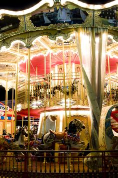 Magical Double-Decker Carousel at Pier 39. | San Francisco, California