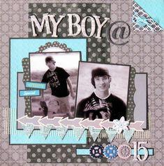 My boy... - Scrapbook.com