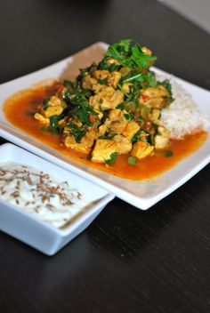 lime curry chicken 685x1024 Lime Curry Chicken and Spinach
