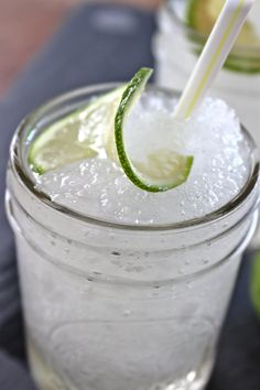 Cocktail Recipe:  Frozen Gin & Tonic  — The 10-Minute Happy Hour