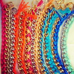#me #my #bracelets #DIY #accessories #detail #colorfull #rainbow #sarabluenailgirl #saraparistartaglia #bluenailgirl #fashion #moda #cool #amazing #gorgeous #cute