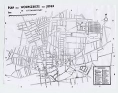 Map of the Lodz Ghetto.