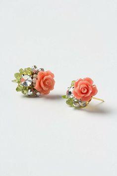Bouquet Cluster Earrings #anthropologie